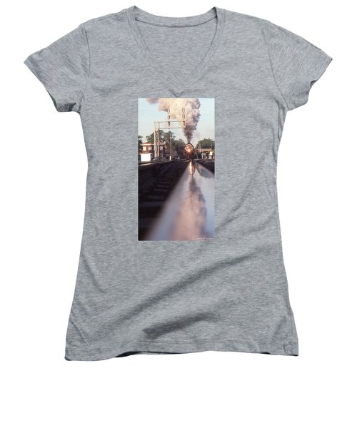 Steaming Up Women's V-Neck (Athletic Fit)