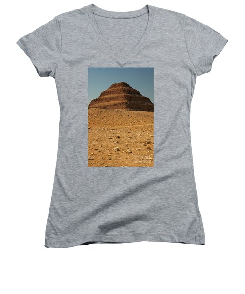 Step Pyramid Women's V-Neck (Athletic Fit)