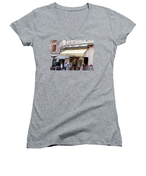 Stephanie Women's V-Neck T-Shirt