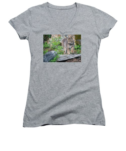 Stepping Out Women's V-Neck (Athletic Fit)