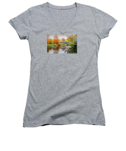 Stepping Stones Women's V-Neck T-Shirt
