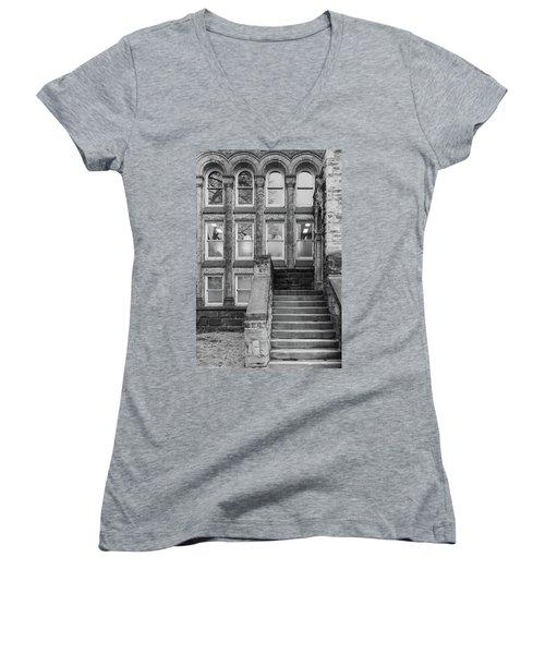 Steps Up Women's V-Neck T-Shirt