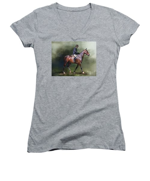 Still Learning Women's V-Neck T-Shirt