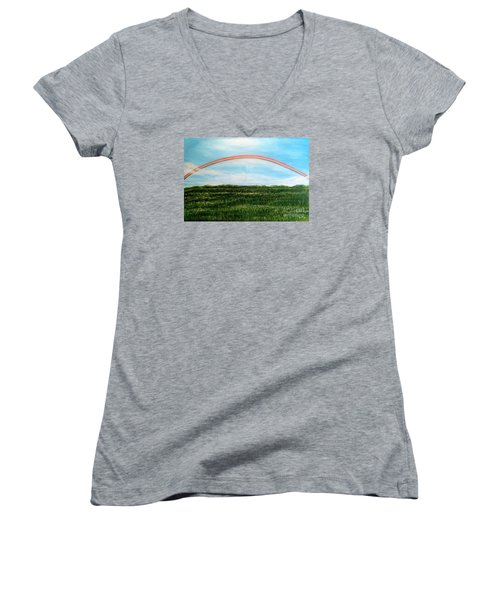 Still Searching For Somewhere Over The Rainbow? Women's V-Neck (Athletic Fit)