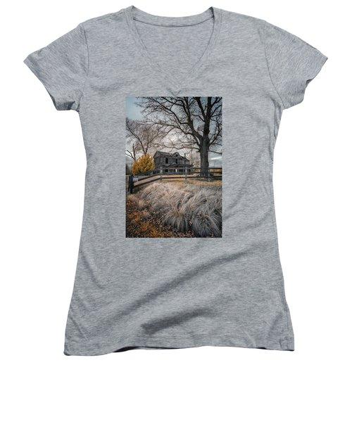 Still Standing Ir Women's V-Neck T-Shirt