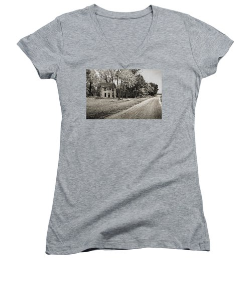 Stone House Road Women's V-Neck T-Shirt
