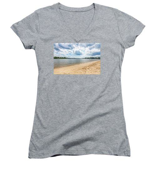 Sand, Sky And Water Women's V-Neck