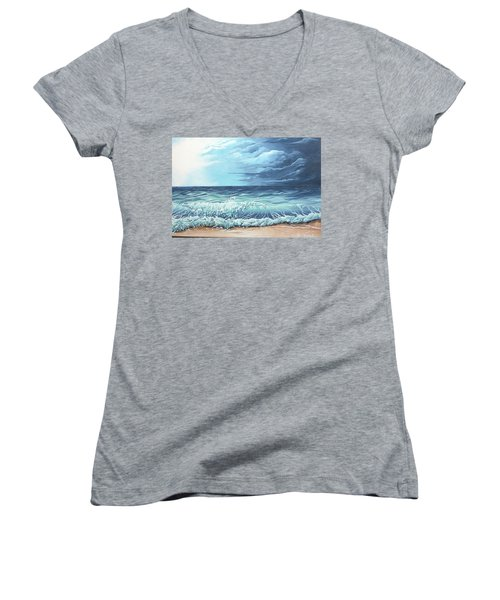 Storm Front Women's V-Neck (Athletic Fit)