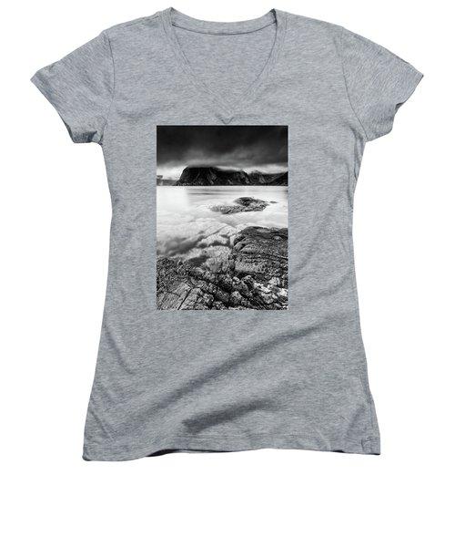 Stormy Lofoten Women's V-Neck