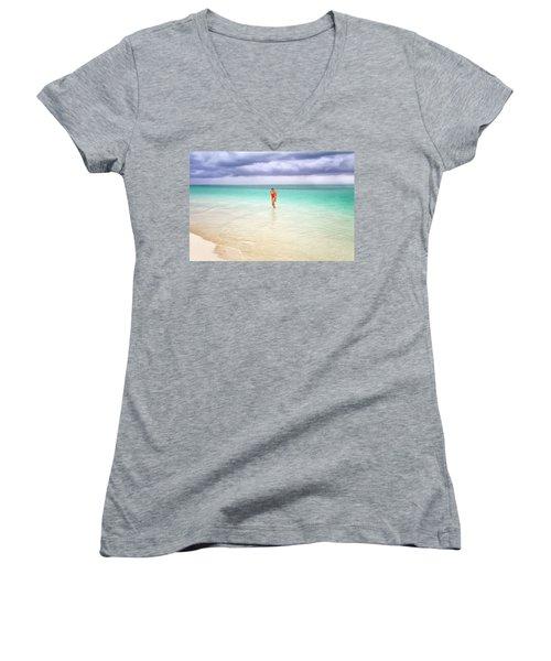 Stranded Women's V-Neck T-Shirt