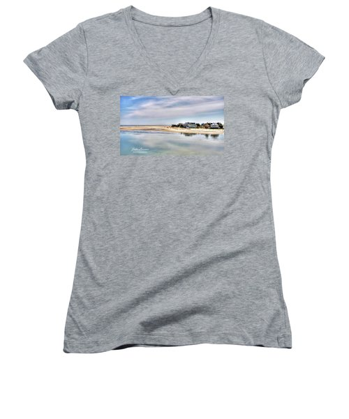 Strathmere Women's V-Neck T-Shirt