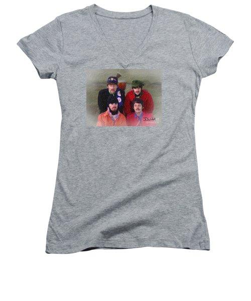 Strawberry Time Women's V-Neck T-Shirt