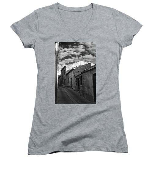 Street Little Town Women's V-Neck
