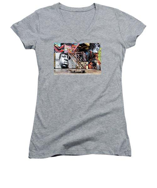 Street Portraiture Women's V-Neck T-Shirt