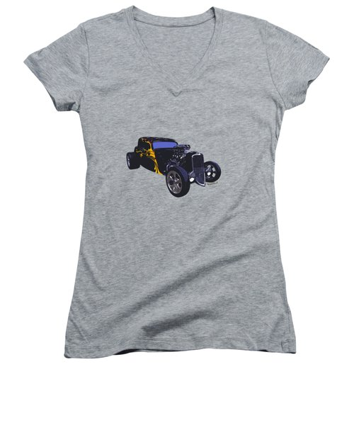 Street Rod What Is It Women's V-Neck (Athletic Fit)