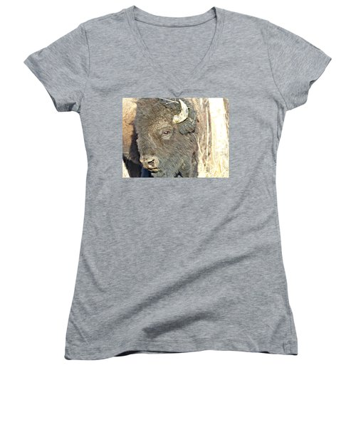 Strike A Pose Women's V-Neck