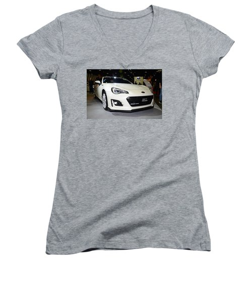 Subaru Brz Women's V-Neck T-Shirt