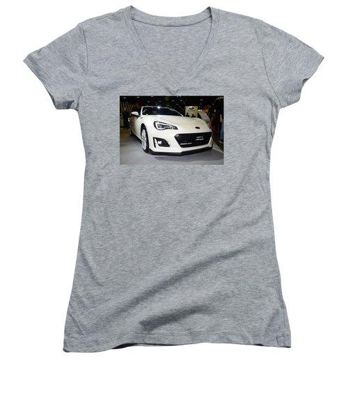 Subaru Brz Women's V-Neck T-Shirt