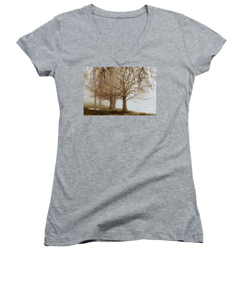 Women's V-Neck T-Shirt (Junior Cut) featuring the photograph Sublime by Iris Greenwell