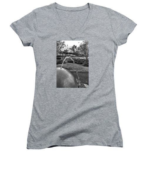 Suburban Thirst Quencher Women's V-Neck T-Shirt