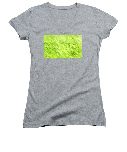 Summer Barley. Women's V-Neck