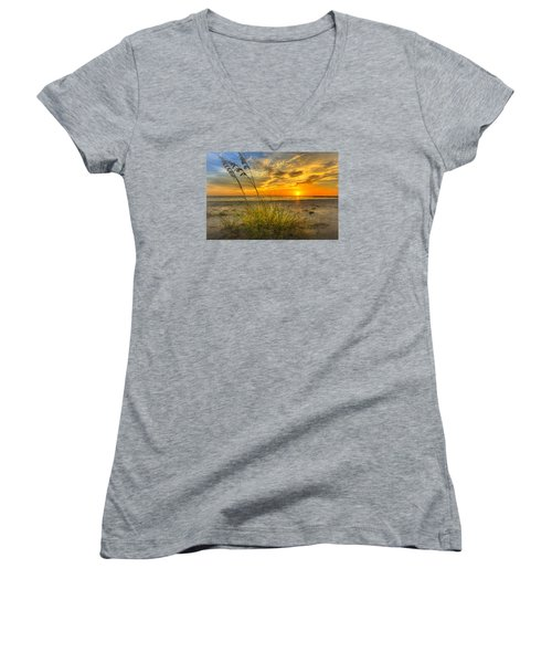 Summer Breezes Women's V-Neck T-Shirt
