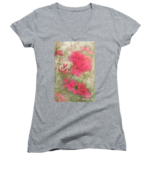 Summer Joy Women's V-Neck T-Shirt