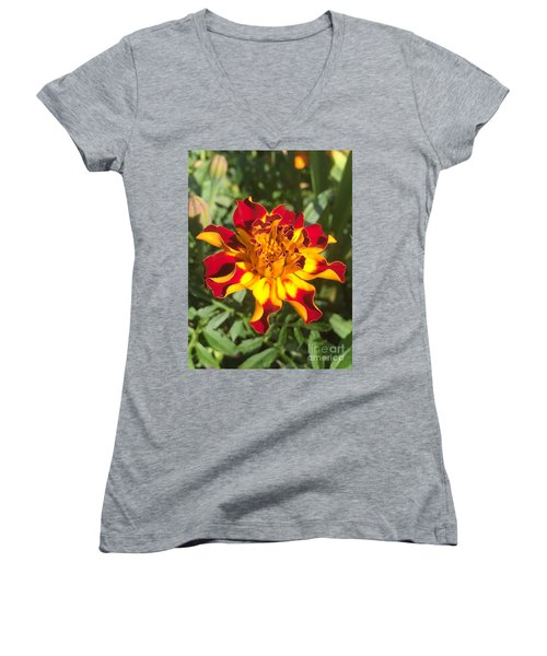 Summer Marigold Women's V-Neck