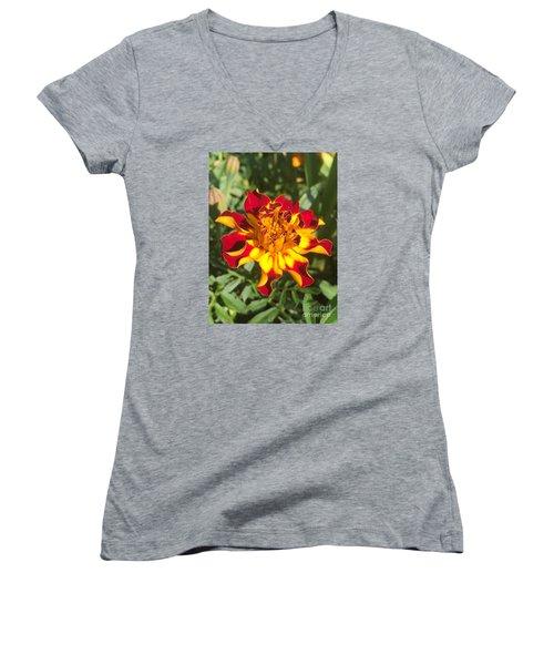 Summer Marigold Women's V-Neck