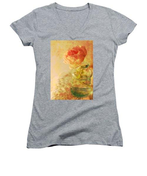 Summer Rose Women's V-Neck T-Shirt