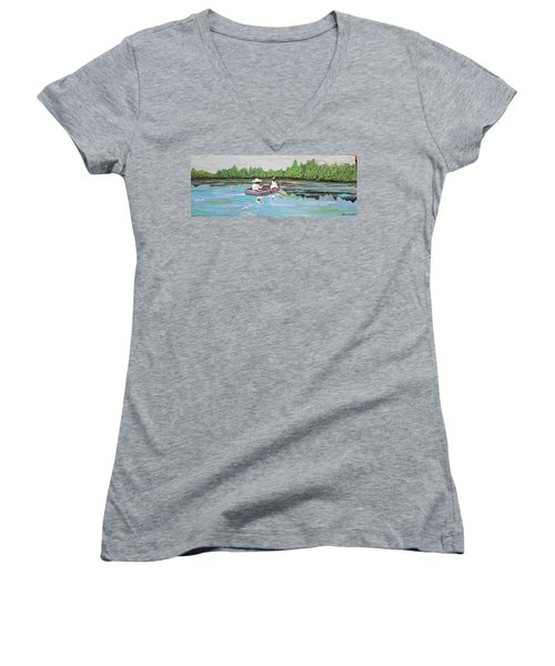 Summer Rowing Women's V-Neck (Athletic Fit)