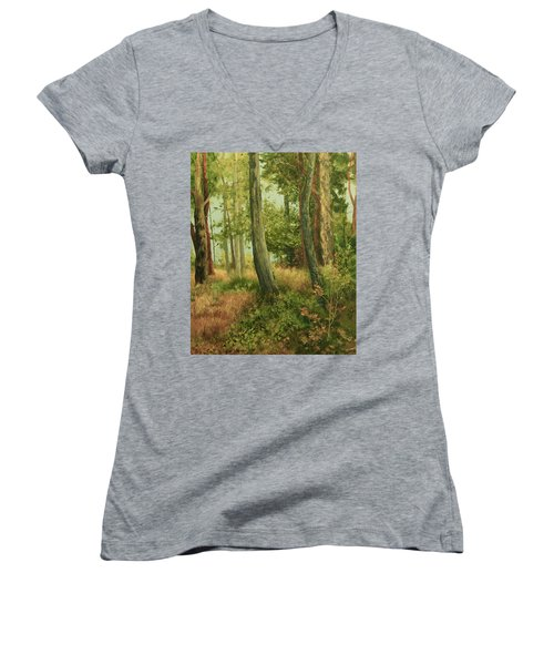 Summer, Sidney Spit Women's V-Neck T-Shirt