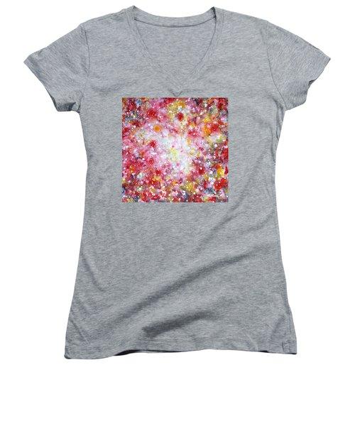 Summer Solstice Women's V-Neck T-Shirt