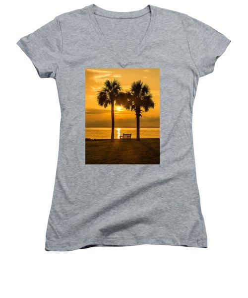 Summer Sunrise - Charleston Sc Women's V-Neck