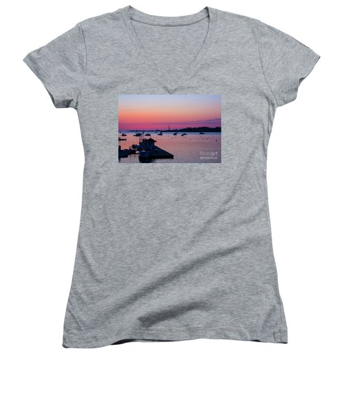 Summer Sunrise Women's V-Neck