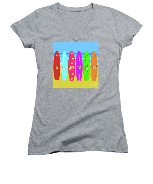 Summer Surf Women's V-Neck