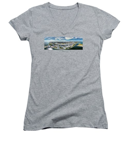Summerfest Panorama Women's V-Neck (Athletic Fit)