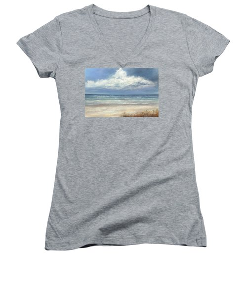 Summer's Day Women's V-Neck (Athletic Fit)