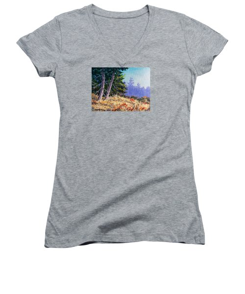 Summers End Women's V-Neck T-Shirt