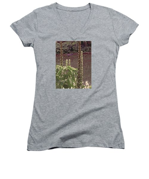 Summer's Last Stand Women's V-Neck (Athletic Fit)