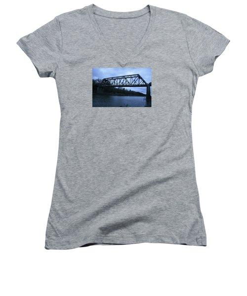 Sumner Missouri Women's V-Neck T-Shirt