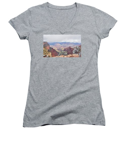 Sun And Snow Women's V-Neck (Athletic Fit)