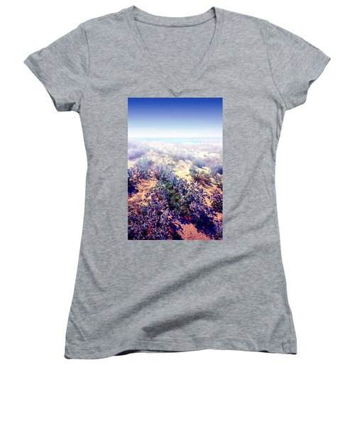 Sun And Wind Women's V-Neck
