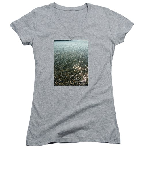 Sun Dances Women's V-Neck T-Shirt