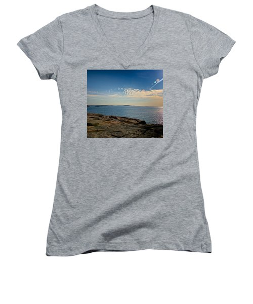 Sun Flare Women's V-Neck T-Shirt