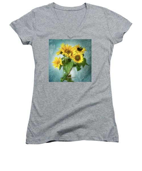 Sun Inside Women's V-Neck T-Shirt