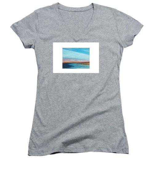 Sun Sliver Women's V-Neck T-Shirt