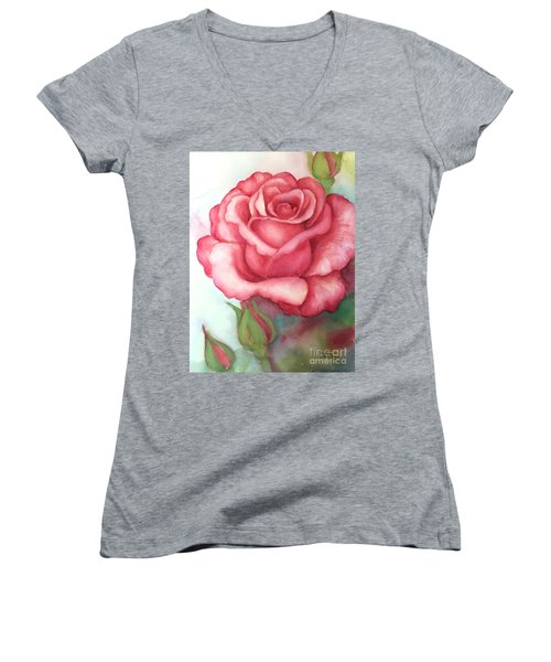 Sunday Rose Women's V-Neck