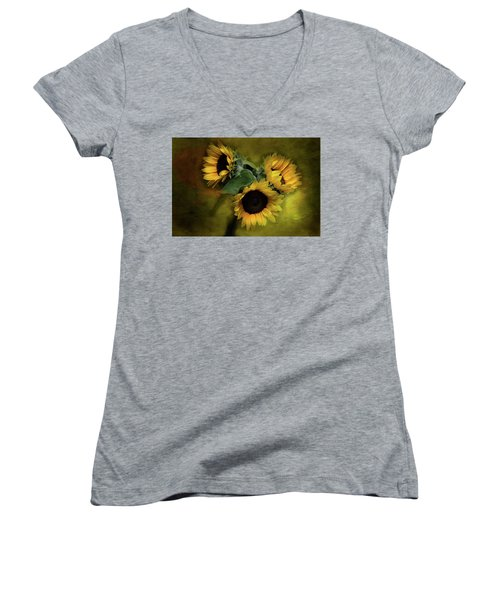Sunflower Family Women's V-Neck