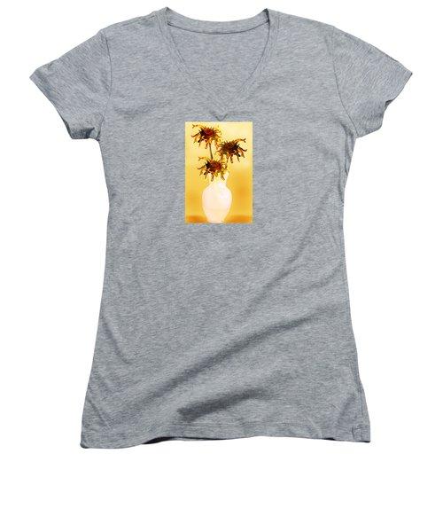 Sunflowers Women's V-Neck
